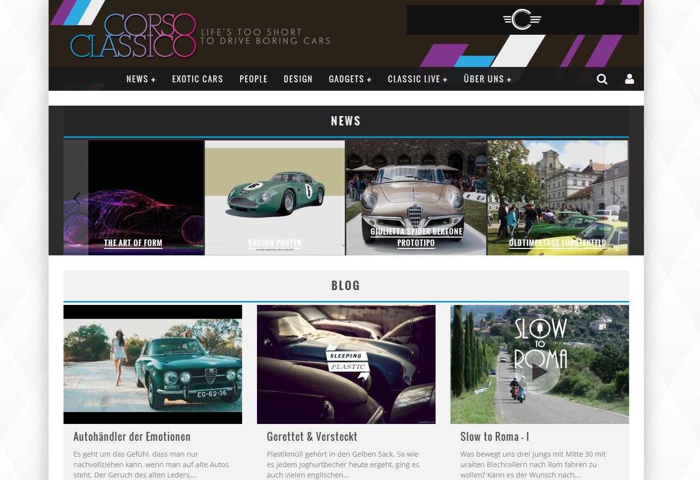 online Magazin für Classic Lifestyle und Benzinkultur